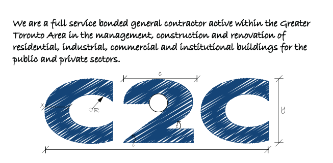 C2c construction ltd we are a full service bonded general contractor active within the greater toronto area in the malvernweather